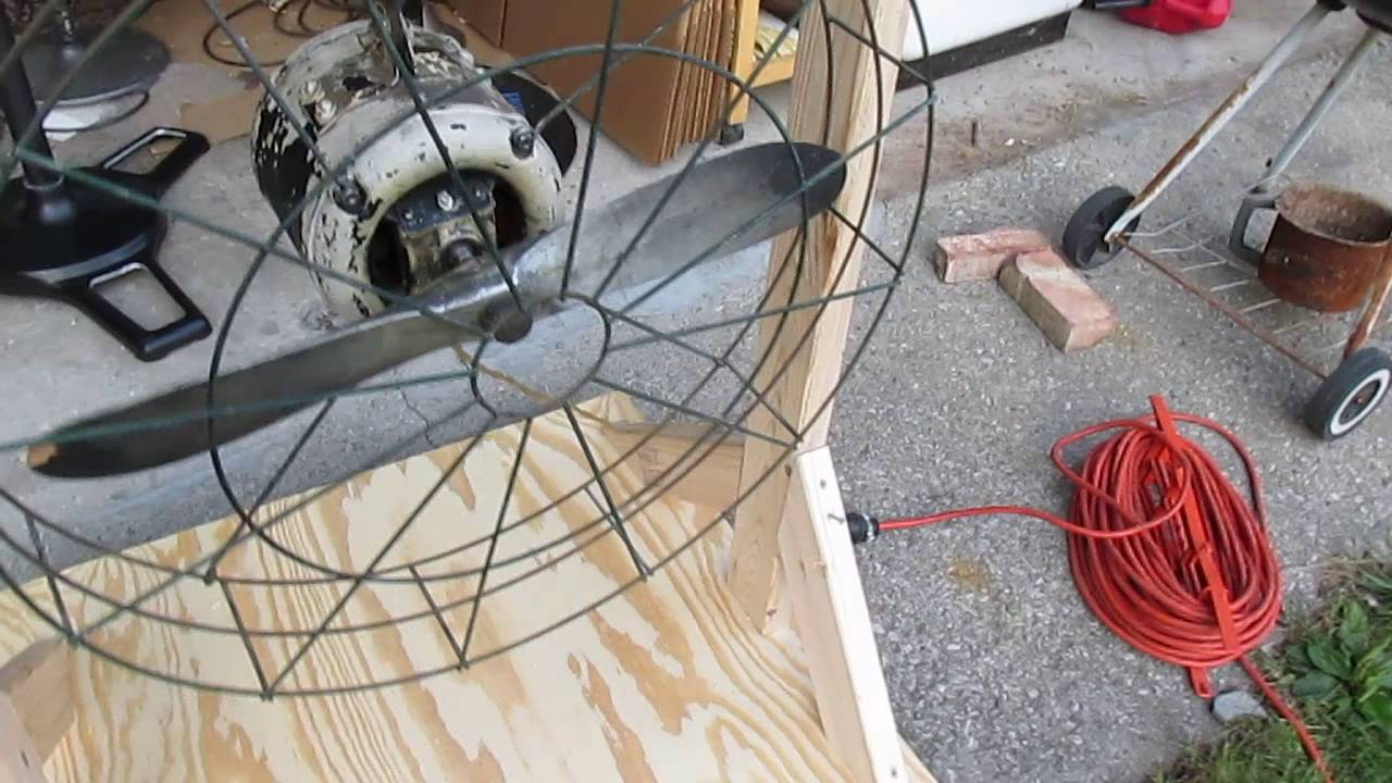 Vintage Dallas Airplane Electric Fan Youtube
