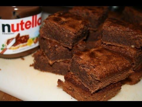 brownies-au-nutella
