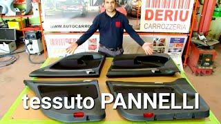 Come sostituire il tessuto ai pannelli dell'auto