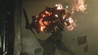 Resident Evil 8 Village - Propeller Enemy Boss Fight - Village Of Shadows Difficulty