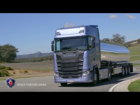 New Generation Scania on the road
