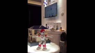Alpha 2 Dancing Robot at CES 2016
