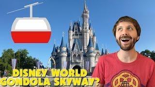 DISNEY WORLD GONDOLA SKYWAY?! D23, Mission Breakout, Pandora! - This Week In Disney April 30 2017