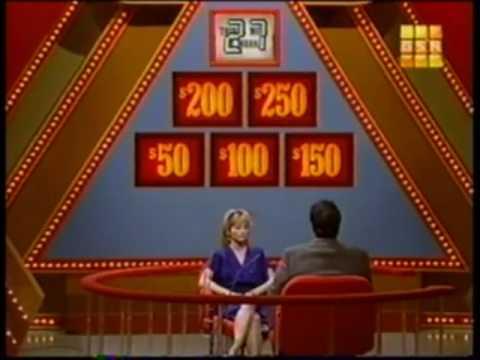 Pyramid game  bonus round  Stuart Pankin  $100,000 Pyramid