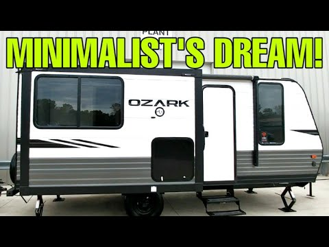 MINIMALIST'S DREAM Travel Trailer RV! Ozark 1800QS