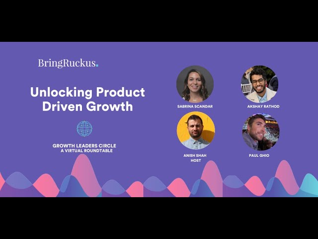 Unlocking Product-Driven Growth