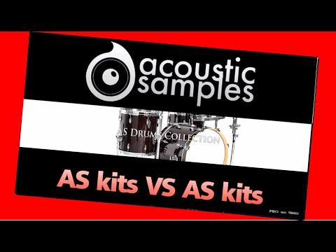 AcousticSamples Drums Collection - Kits Comparaison et touches séparées