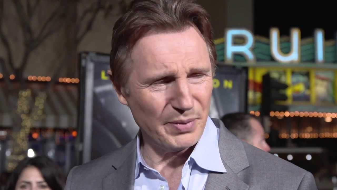 Non-Stop: Liam Neeson Movie Premiere Interview - YouTube