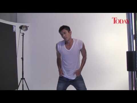 TODAY photoshoot with Absolutely Charming star Elvin Ng