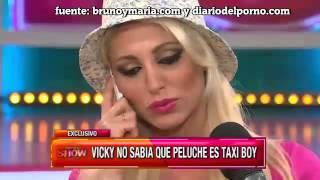 """brunoymaria.com: """"Peluche"""", el pretendiente de Vicky Xipolitakis, tiene un video porn"""
