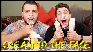 CREAM TO THE FACE CHALLENGE