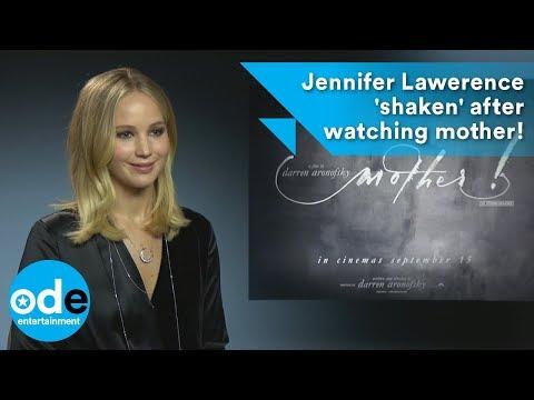Jennifer Lawrence 'shaken' after watching mother! thumbnail