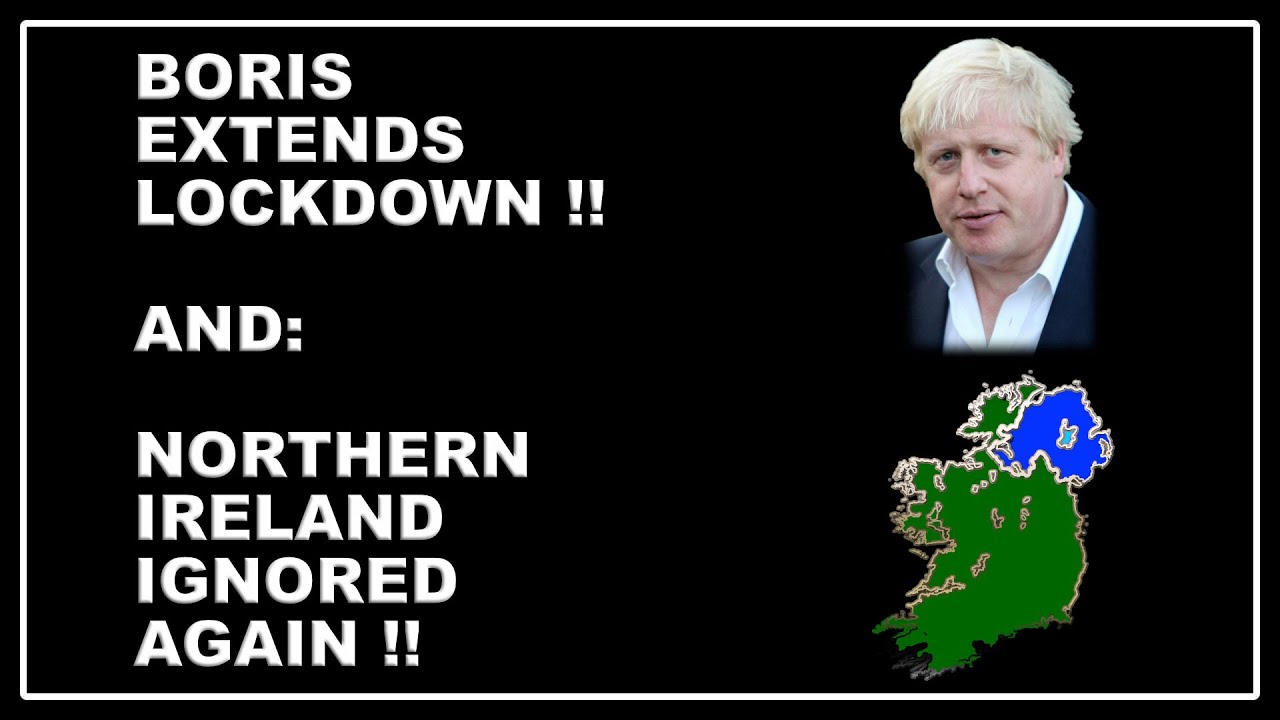 COVID pandemic restrictions to stay! And another wedge driven between Great Britain and Northern Ire