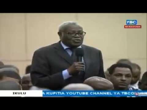 Mzee Ampongeza Maguful Kwa Kuwapa Kiwada Cha Nyama