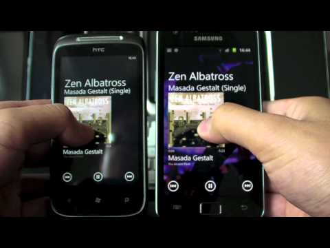 WP7 music player for Android