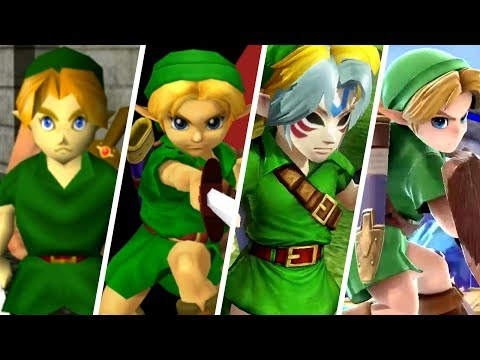 Evolution of Young Link (1998 - 2018)