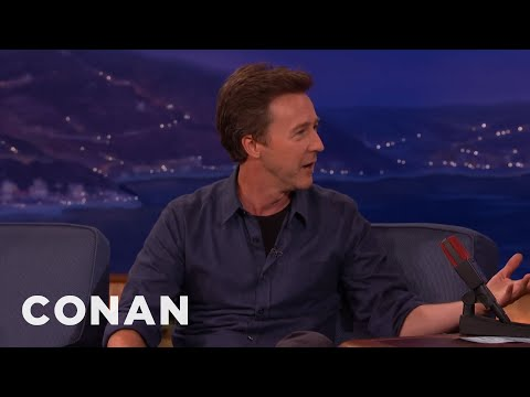 Edward Norton & Brad Pitt Are Making A Lewis & Clark Miniseries  - CONAN on TBS