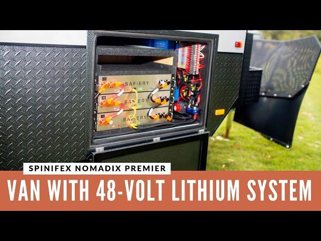 REVIEW: Spinifex Caravans Nomadix Premier with 48-Volt System!