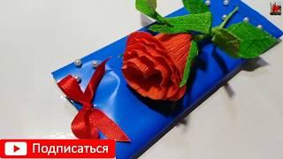 СЛАДКИЙ СУВЕНИР на 8 МАРТА своими руками.поделки на 8 марта своими руками.идеи.цветы из бумаги./diy/
