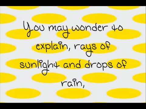 Miranda Cosgrove-Raining Sunshine+Lyrics