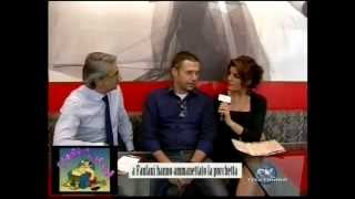 "Rubrica tv ""E' Finita la Pacchia"" post evento Streetfood Village Arezzo 2011"