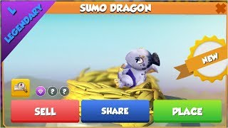 Sumo Dragon Hatching!- Dragon Mania Legends - part 812 HD