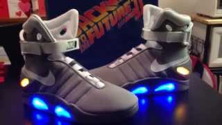 Back to the Future 2 Shoes Review - Nike Air Mag HalloweenCostumes