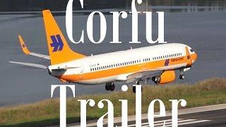 TRAILER Spotting at Kerkyra International Airport, Corfu CFU [FULL HD]