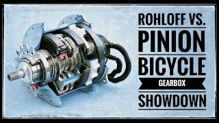 What's The ULTIMATE Bicycle Gearbox? Rohloff Hub VS Pinion Gearbox