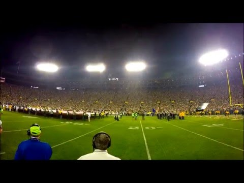 National Anthem - Green Bay Packers - Home Opener (2015) - Esera Tuaolo/David Feily