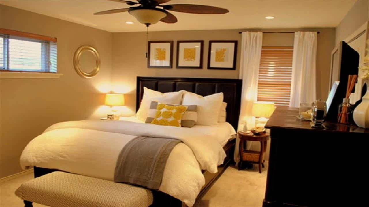 Small Bedroom Ideas For Couples Youtube