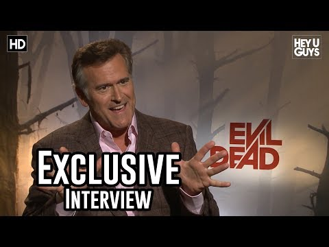 Bruce Campbell Interview - Evil Dead