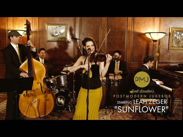 Sunflower - Post Malone Jukebox (Bossa Nova Cover) ft. Leah Zeger