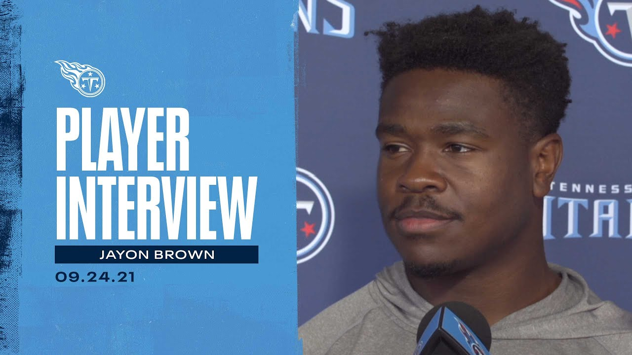 Go Out There and Execute Our Game Plan   Jayon Brown Player Interview