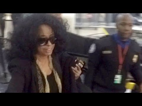 Pop Icon Diana Ross Is Asked About Ringo Starr Being Knighted