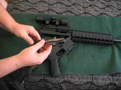 How to: Field stripping a S&W M&P 15-22 - YouTube
