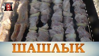 #Шашлык из свинины в томатном соке и сметане.  Просто и вкусно