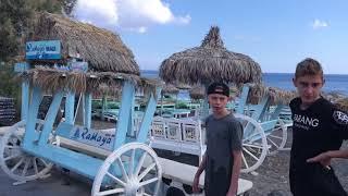Fun Train Perissa Santorini