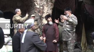 Syria: Chechnya delegation visits Aleppo weeks after cessation of fighting