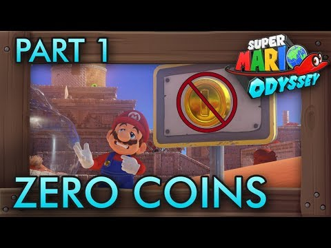 Super Mario Odyssey Without Collecting Any Coins - Part 1