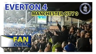 Everton 4-0 Manchester City | The Street End Experience