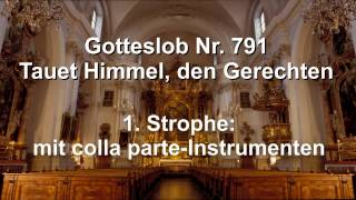 Michael Stenov – Gotteslob-Bearbeitung Von GL 791 Tauet Himmel, Den Gerechten
