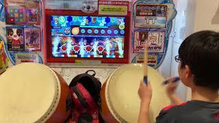 Kid is AMAZING at Taiko no Tatsujin / Taiko: Drum Master