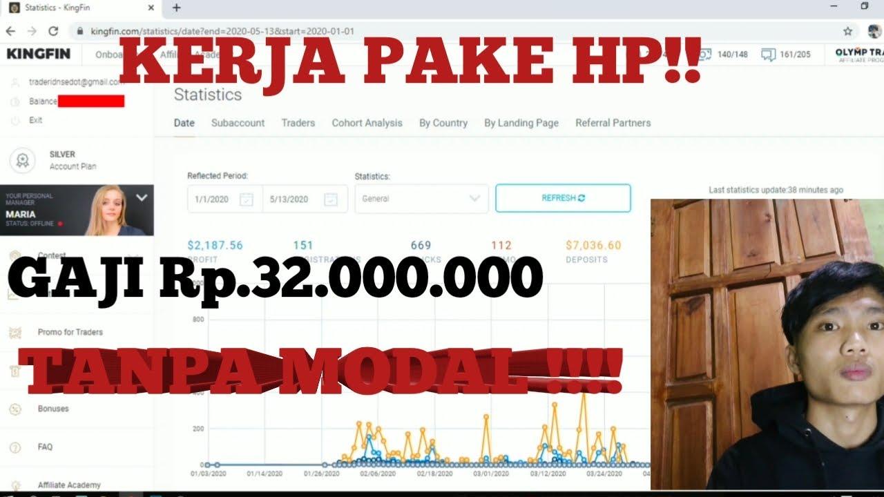 32.000.000!!! TANPA MODAL MAHASISWA PUN BISA | KINGFIN
