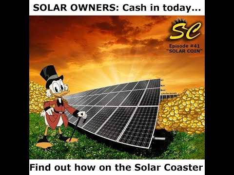 Solar Coaster #41: SOLAR COIN w/ Jason Fellerman