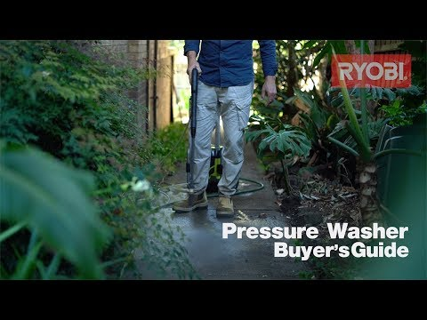 RYOBI: Pressure Washer Buyer's Guide