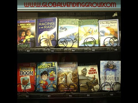 Maria - #GoodNews: School's Book Vending Machine Rewards Top Students