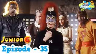 Junior G Episode 35 - Hindi | Popular SuperHero Show | Indian Serial For Kids | ज्युनियर जी कड़ी-35