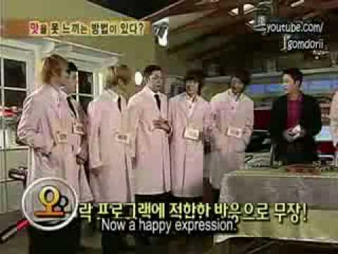 Super Junior - Exploration of the Human Body Episode 1 Part 1-4