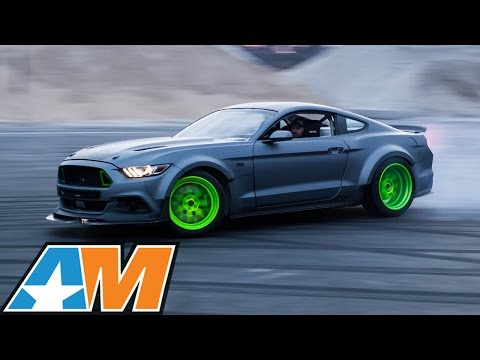 2015 RTR Ford Mustangs Drifting at High Speeds for SEMA 2014! - AmericanMuscle.com